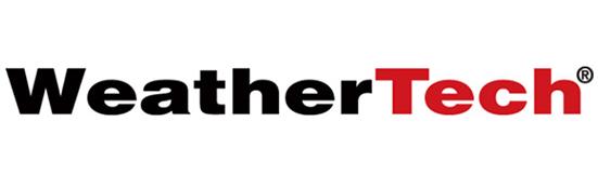WeatherTech aftermarket floor mats logo